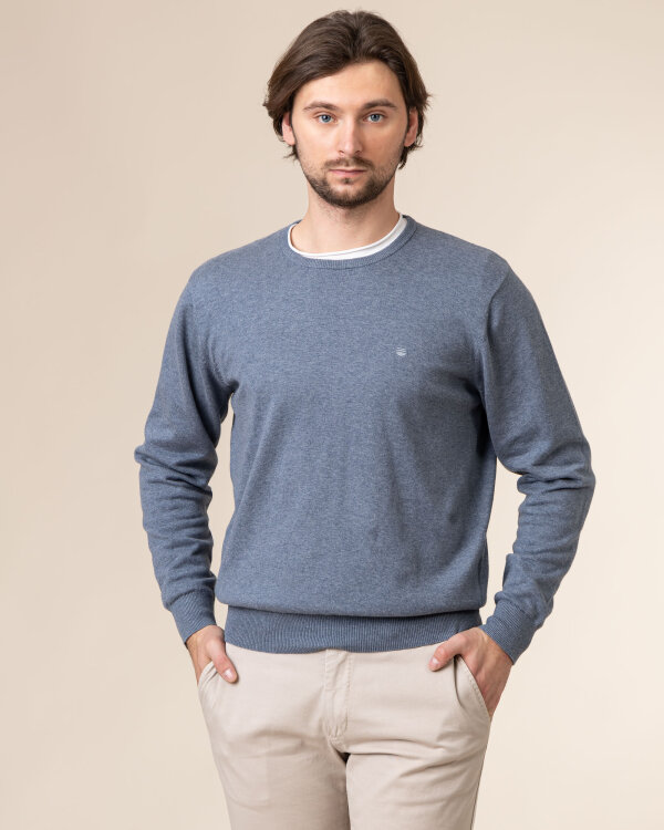 Sweter Redmond 500_114 niebieski