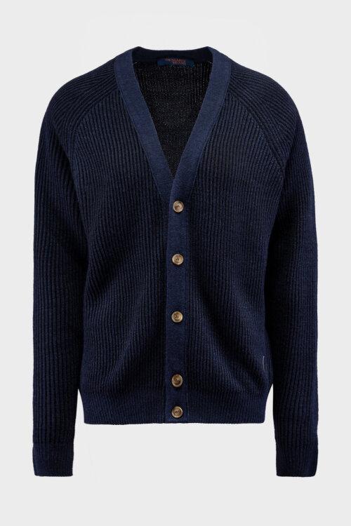 Sweter Trussardi Jeans 52M00400_0F000556_U611 granatowy