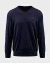 Sweter Campione 7097419_111010_84400 granatowy