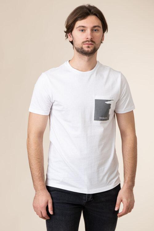T-Shirt Trussardi Jeans 52T00378_1T003076_W001 biały