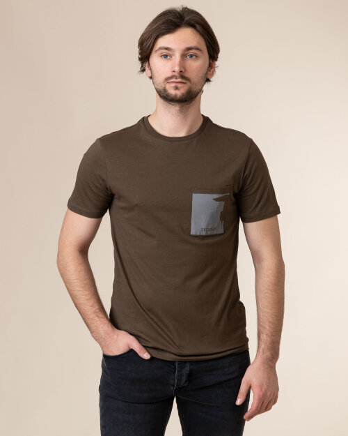 T-Shirt Trussardi  52T00378_1T003076_G703 zielony