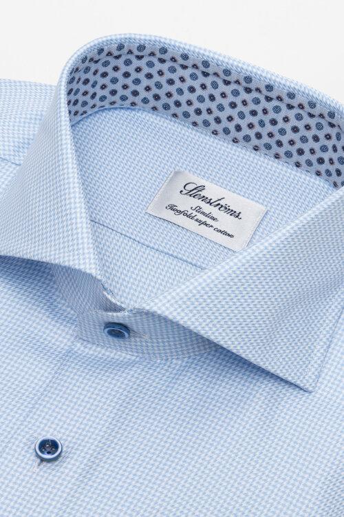 Koszula Stenstroms 784111_2345_100 niebieski