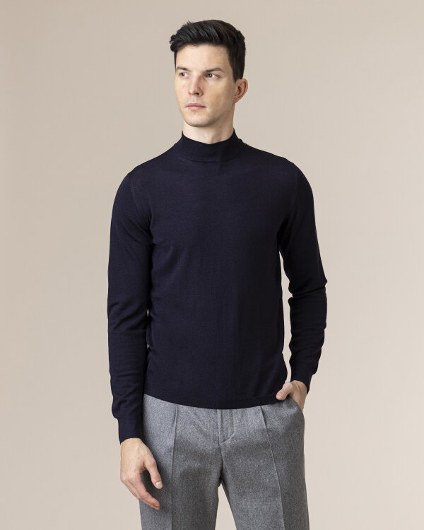 Sweter Fedeli 2UI07981_6 granatowy