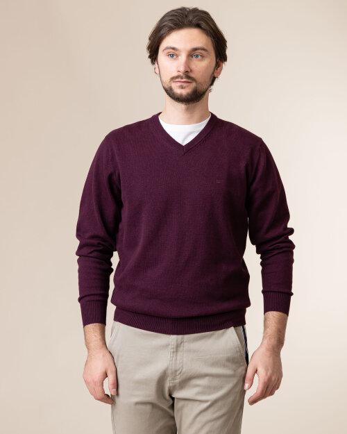 Sweter Redmond 600_59 bordowy