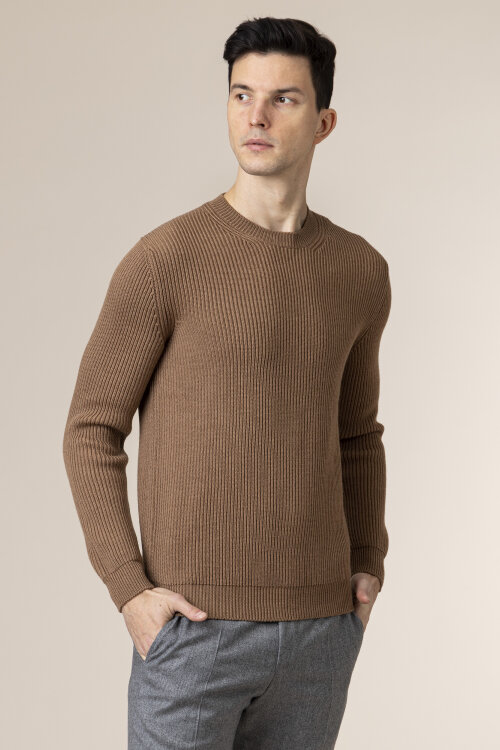 Sweter Altea 1961154_34 brązowy