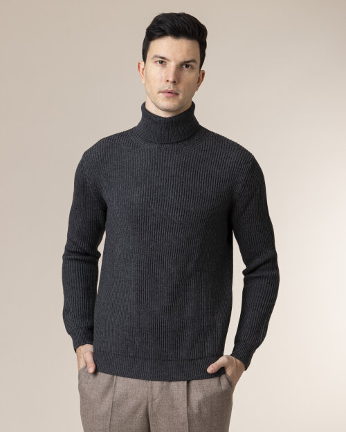 Sweter Altea 1961155_89 ciemnoszary