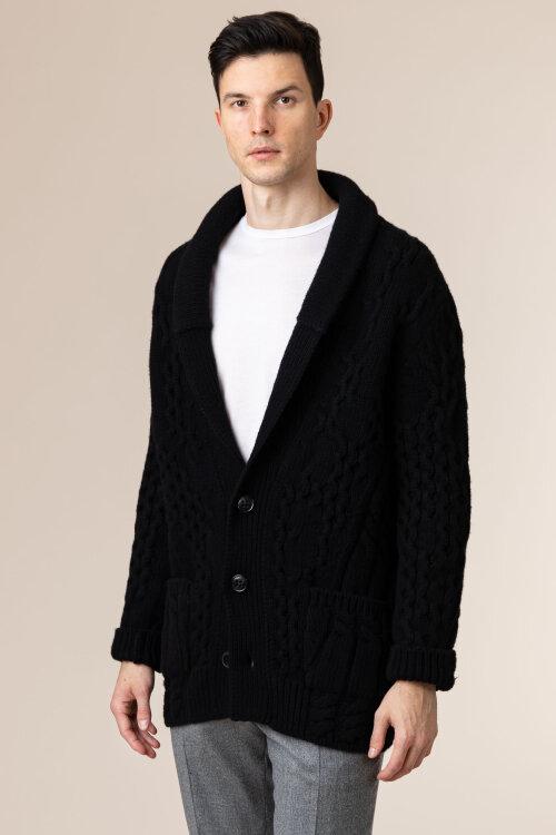 Sweter Dondup UT054_M00760U_999 czarny