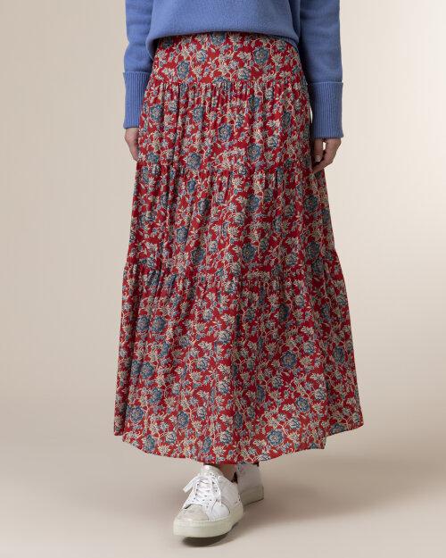 Spódnica Lauren Ralph Lauren 200793312001_RED MU czerwony