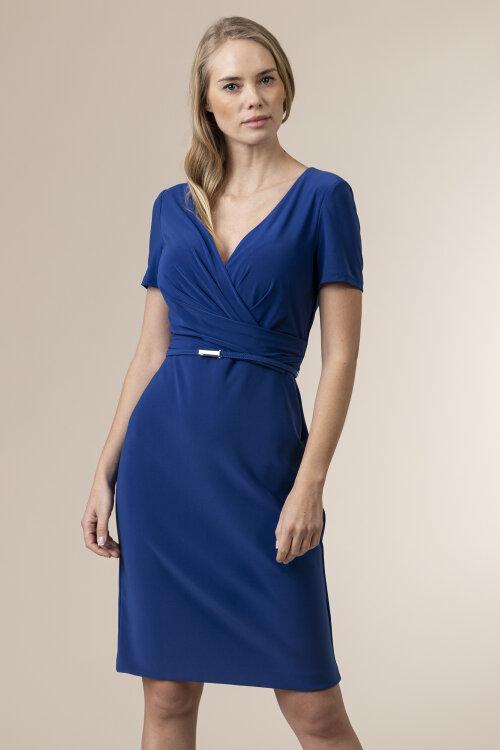 Sukienka Lauren Ralph Lauren 250785864003_SMMR SPPHR niebieski