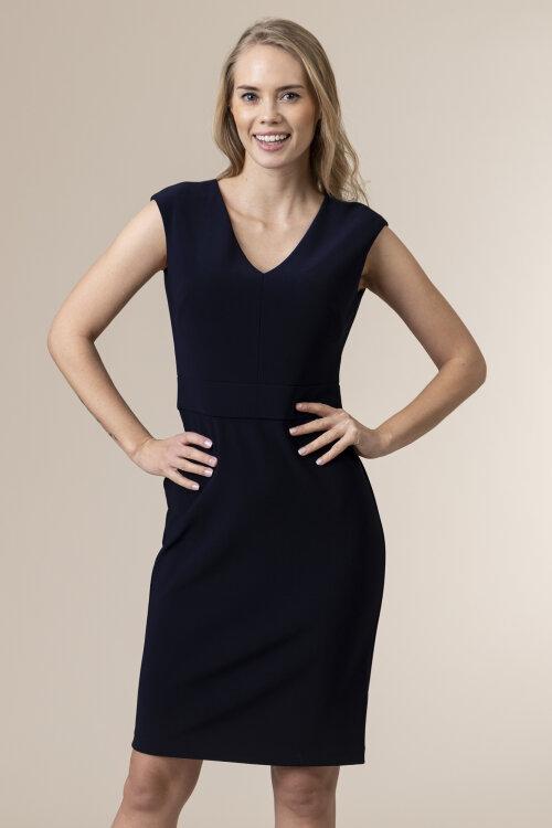 Sukienka Lauren Ralph Lauren 250786016004_NAVY granatowy