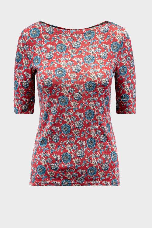 Bluzka Lauren Ralph Lauren 200802354001_RED MU czerwony