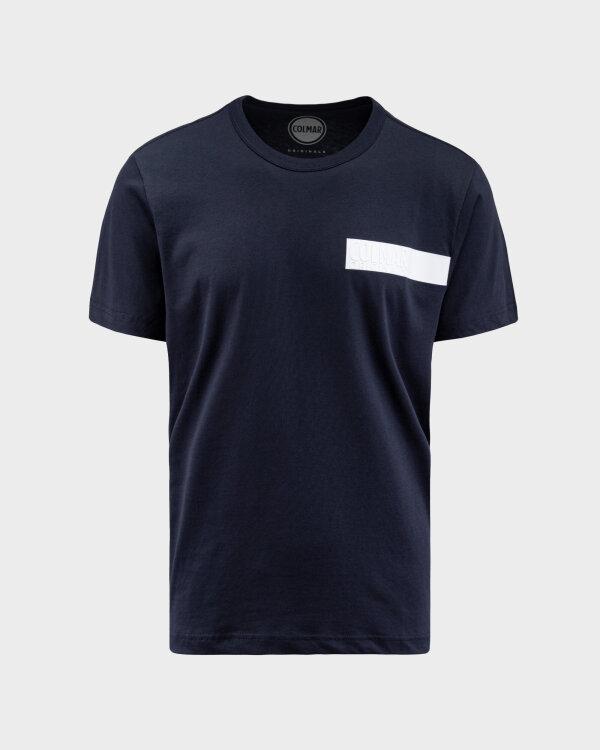 T-Shirt Colmar 7561R_6SH_68 granatowy