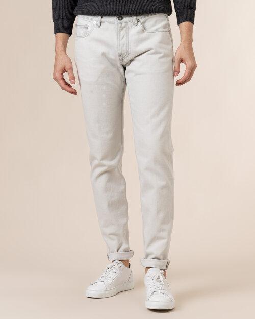 Spodnie Eleventy B75PANB06_TET0B017_01 biały