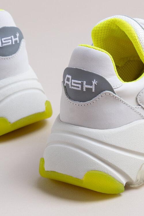 Buty Ash S-127792_WHITE/SILVER biały