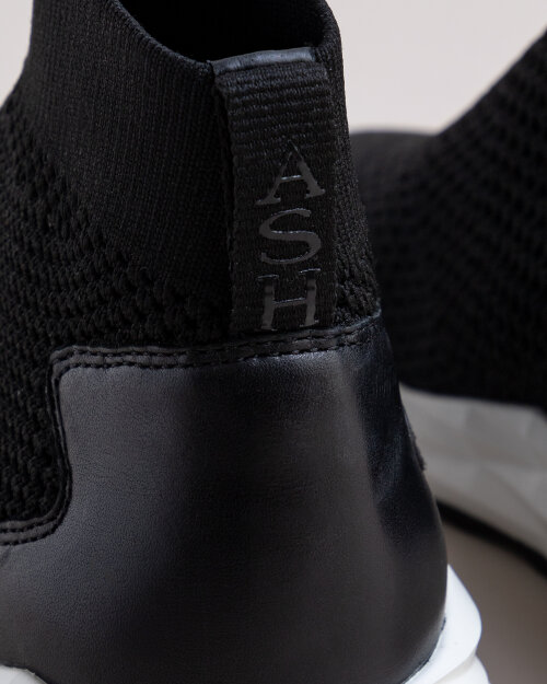 Buty Ash S-128424_BLACK czarny