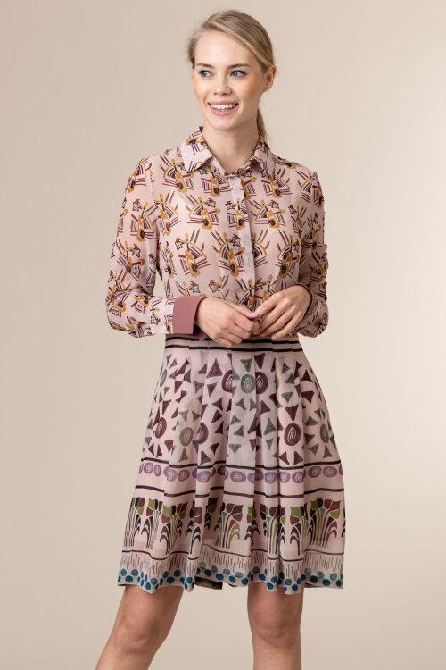 Sukienka Skills&genes W204A08_W185_060 różowy