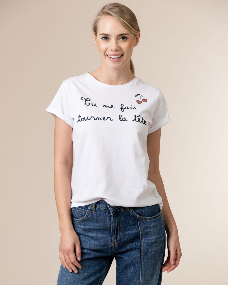 T-Shirt Iblues 79711111_DEODARA_005 biały - fot:2