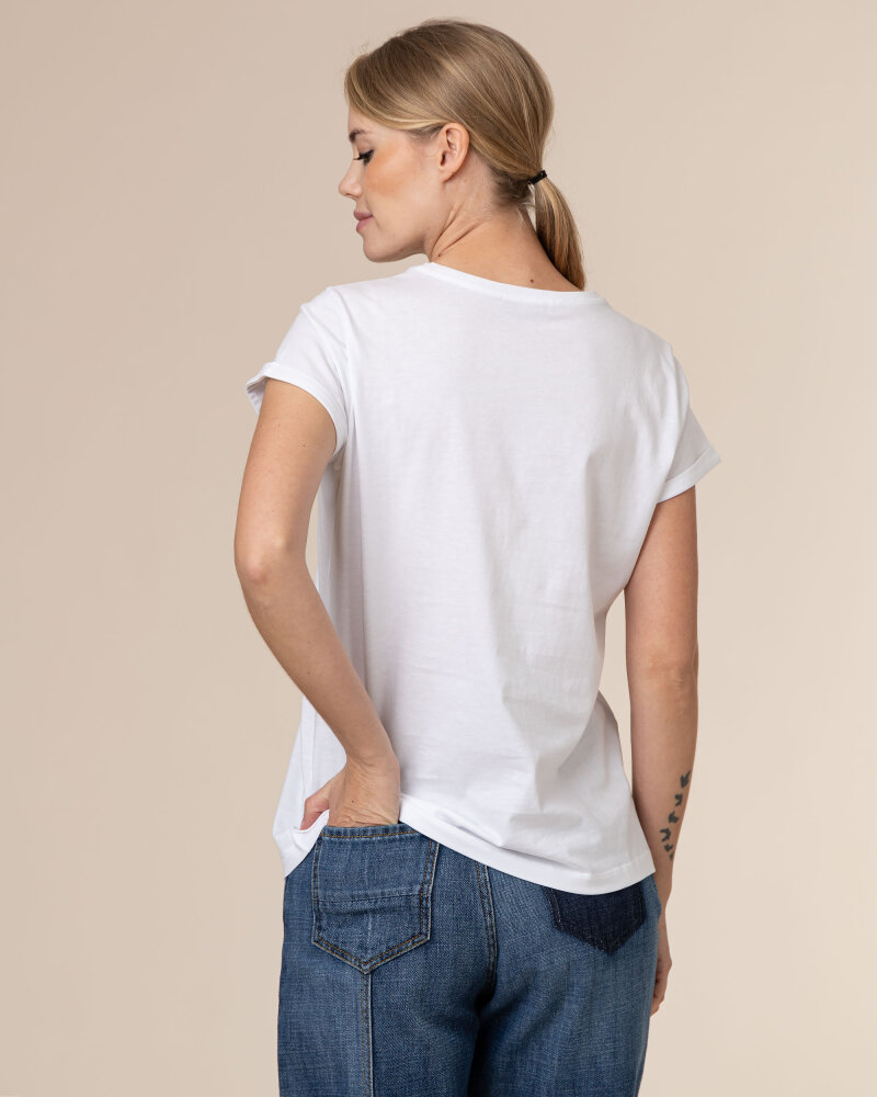 T-Shirt Iblues 79711111_DEODARA_005 biały - fot:4