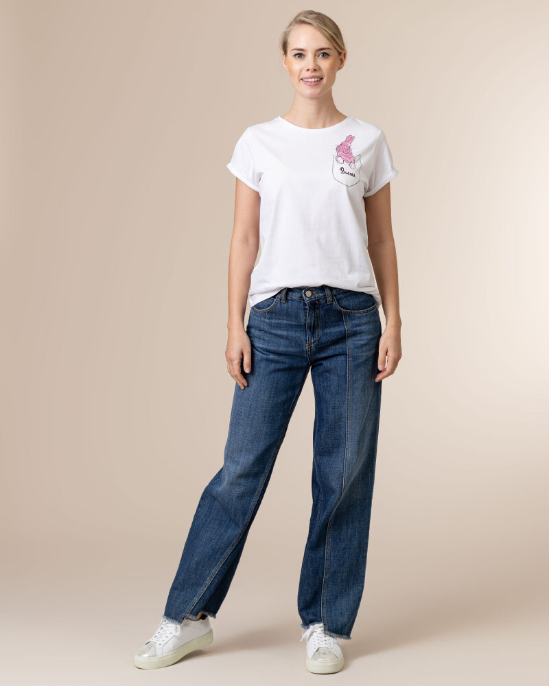 T-Shirt Iblues 79711111_DEODARA_001 biały - fot:5