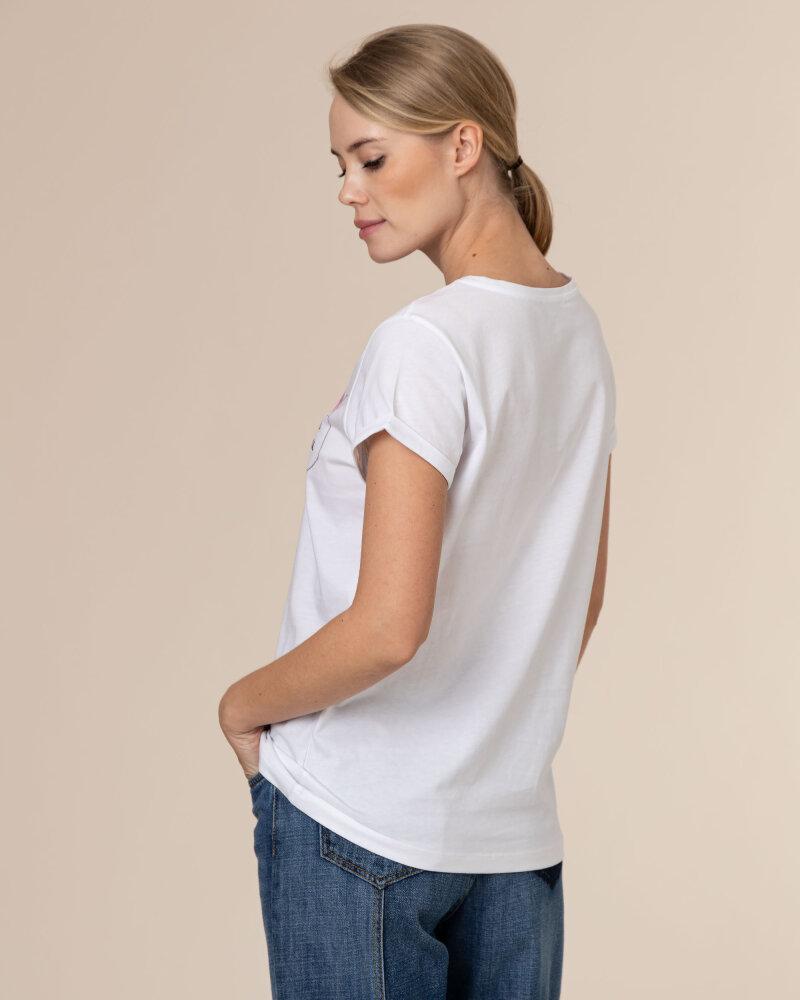 T-Shirt Iblues 79711111_DEODARA_001 biały - fot:4