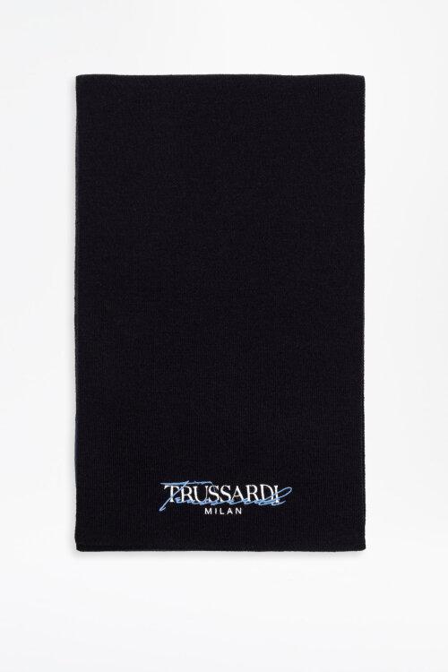 Szalik Trussardi Jeans 57Z00189_9Y099999_U719 granatowy